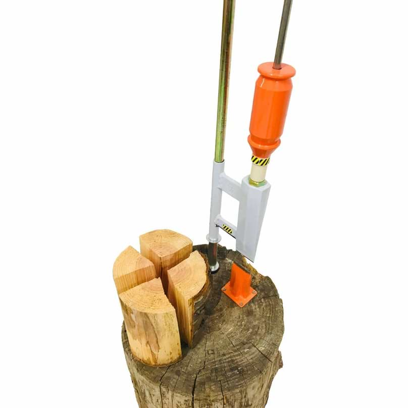 Handholzspalter manuell mit Gewicht