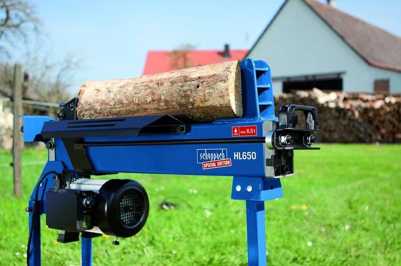 Holzspalter Scheppach 6,5 tonnen