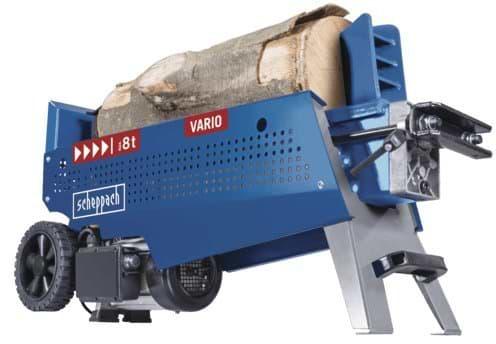 Elektrische Holzspalter bis 8 Tonnen liegend