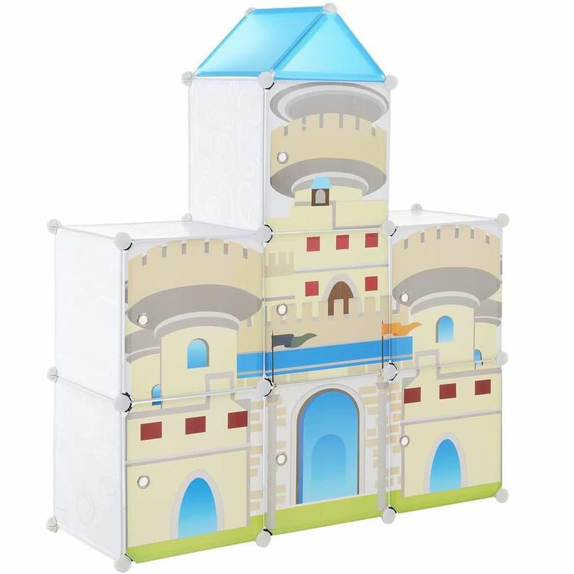 Kunststoff Steckregal für Kinderzimmer