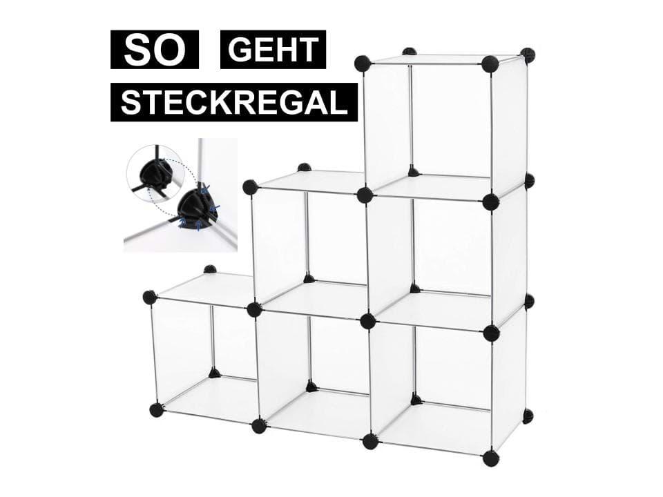 Steckregal Kunststoff Metall Beste Steckregale Für Wohnung Haus